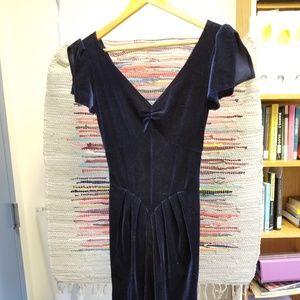 Stop Staring! Velvet Dress